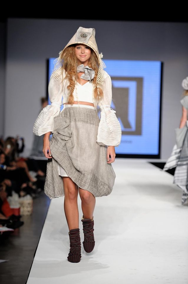 Pattie Hat created by Elaine Scantlen for Miami Fashion Week AOS 2013