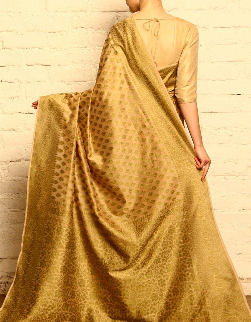 Tissue silk saree tissue silk saree from banaras at unravelindia  saree  pinterest