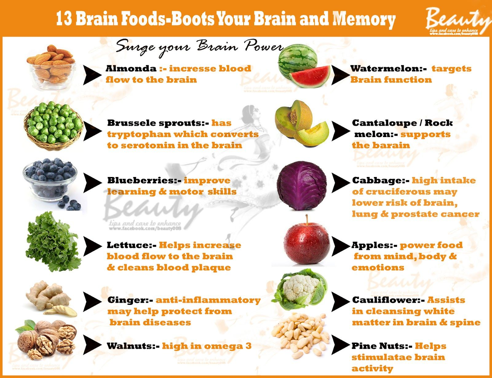 What Herbs Foods Are Good For Improving Memory