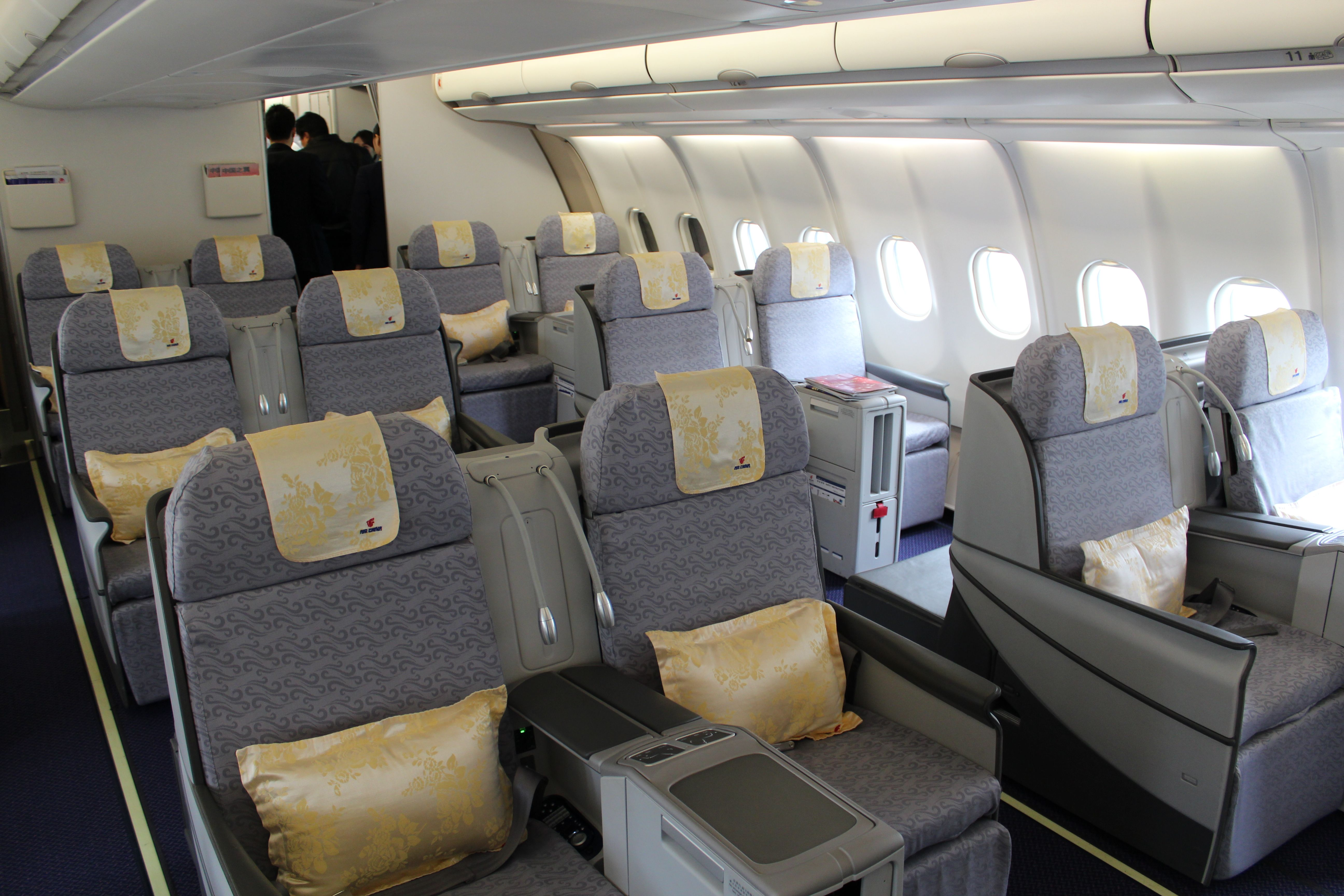 Air China A330200 Business Class cabin Airlines and