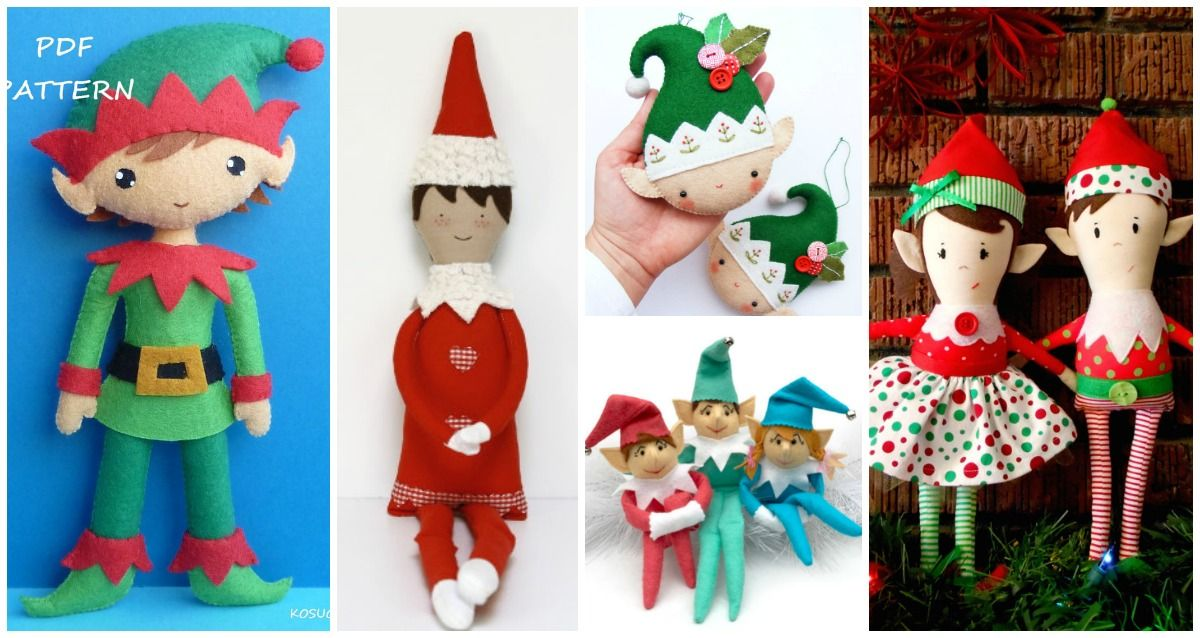 Christmas Is Right Around The Corner Whether You Re Looking To Sew Your Own Vers Christmas Sewing Projects Christmas Diy Sewing Handmade Christmas Decorations