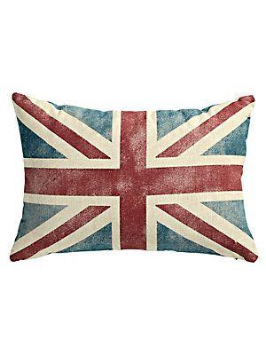 Coussin drapeau anglais britannique l 39 autre cousin pinterest sweet home united - Dessiner le drapeau anglais ...