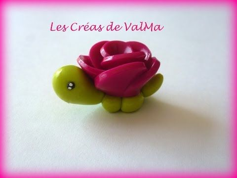 Tuto Fimo Tortue Fleur / Polymer Clay Tutorial - YouTube #chechetutocouture Tuto Fimo Tortue Fleur / Polymer Clay Tutorial - YouTube #chechetutocouture
