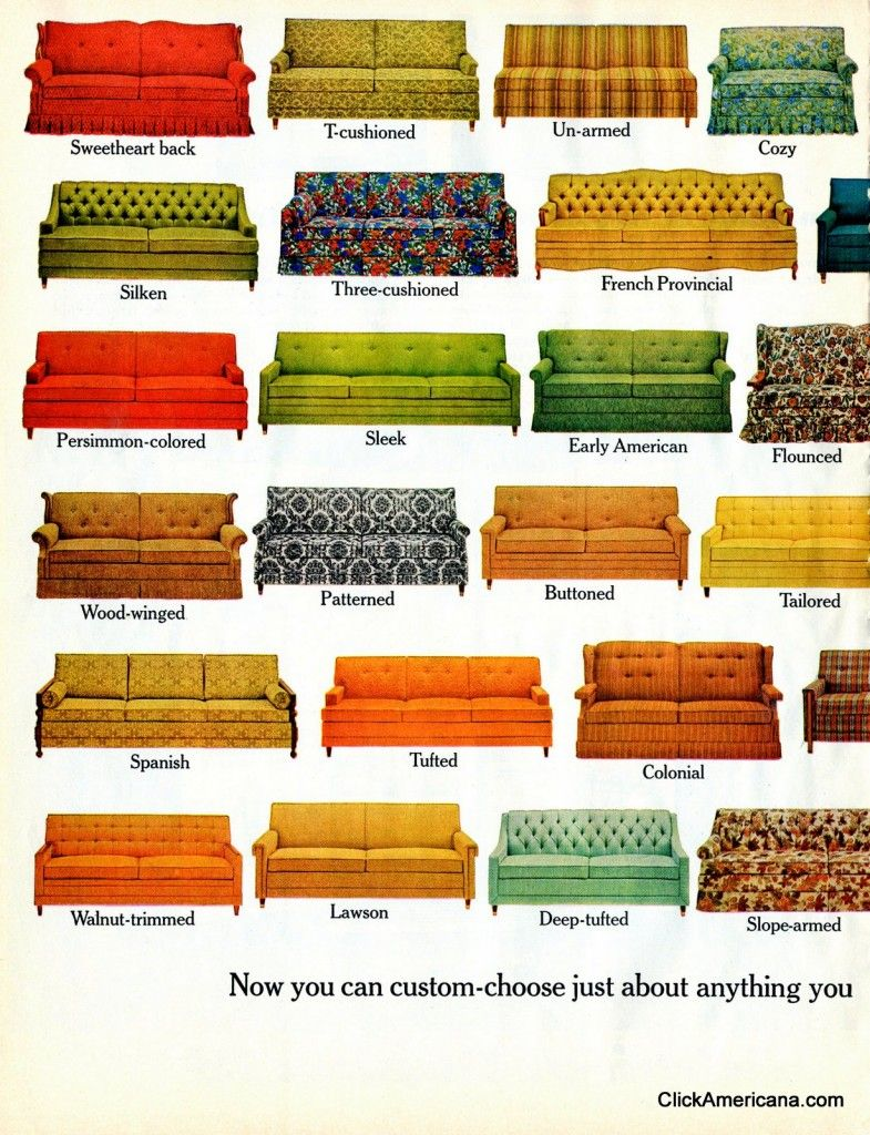 Bettsofa Chur Hide A Bed Sofa Styles 1965 Vintage Ads Sofa Styling Hidden