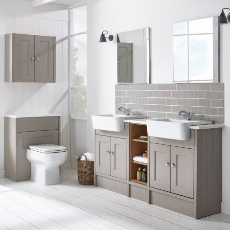 interior design with white floor google - Bathroom Units