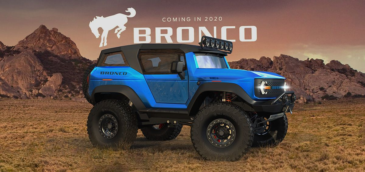 Bronco 2020 On Behance Ford Bronco Spy