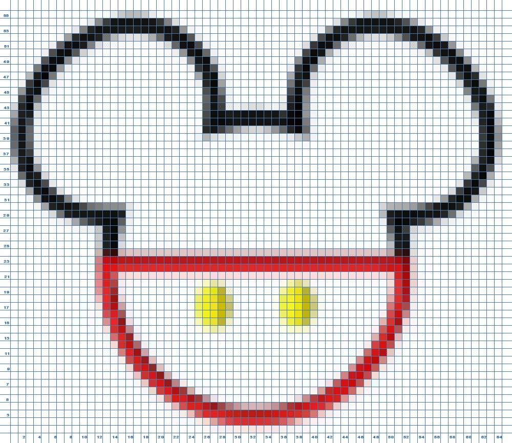 Cómo crear un patrón de tu imagen en segundos | Patrones de punto de ...