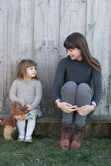 Ravelry: Little Coastal Pullover pattern by Hannah Fettig