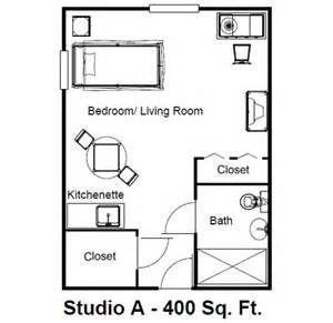 Floor Plan 400 Sq Ft Studio Studio Apartment Floor Plans