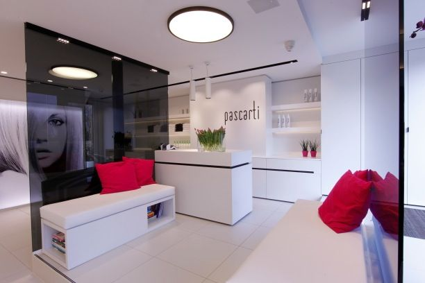 Restyled hair salon named pascarti by luxhome :: creation and or