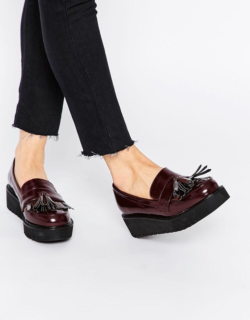 fa6a08b8902 OUTRIGHT Flatform Loafers