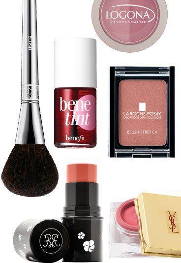 #Rouge: Rosige Vielfalt - Rouge auftragen: Techniken für einen tollen Teint - #blush #beauty Jetzt auf gofeminin.de
