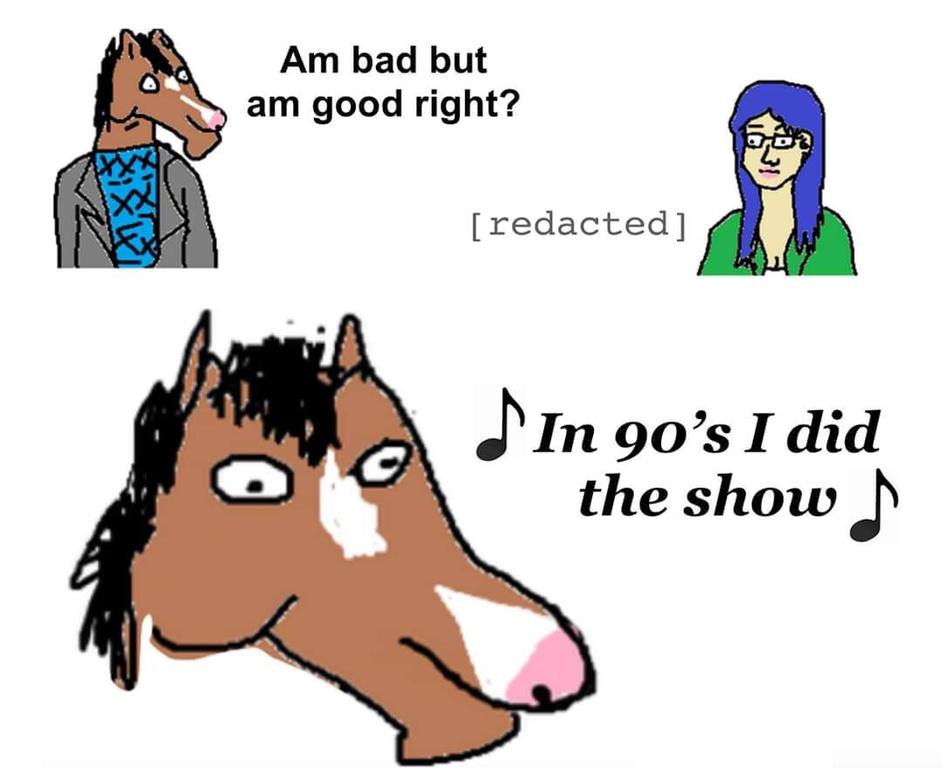 Maymay Bojackhorseman Feel Good Stories Bojack Horseman Horseman