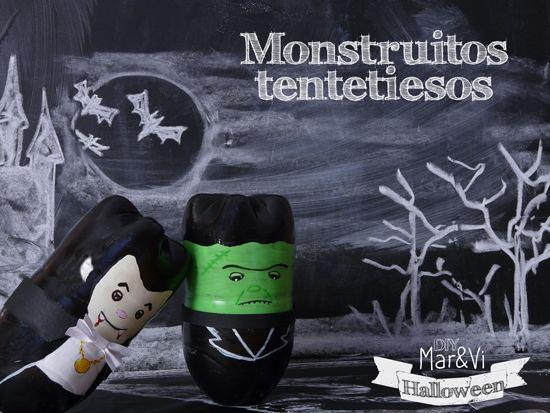 Mar Vi Creative Studio Espana Diy Monstruitos Tentetiesos Diy