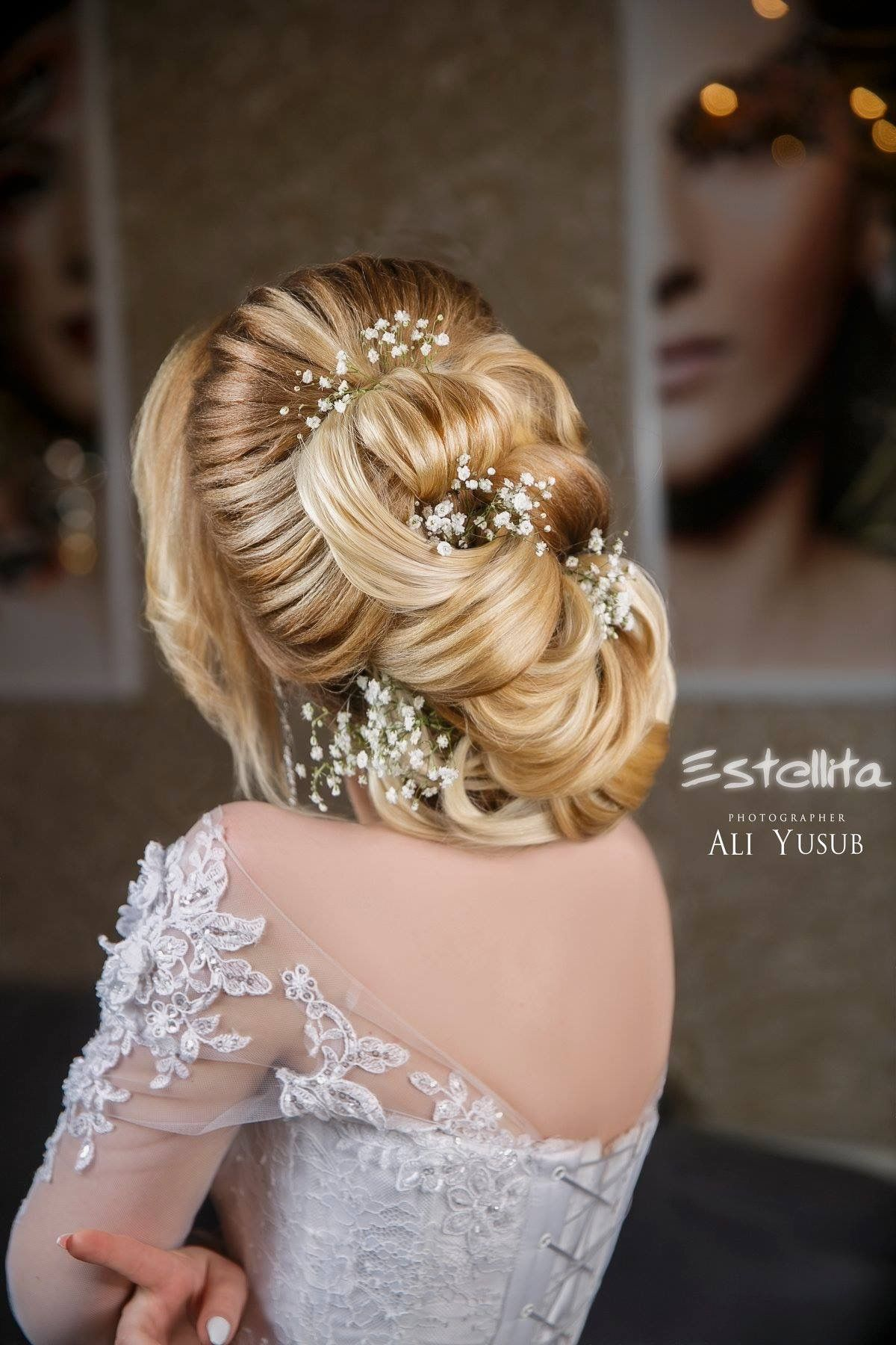 Pin By Seher On Gelin Basi Hair Styles Wedding Hairstyles Hair Updos