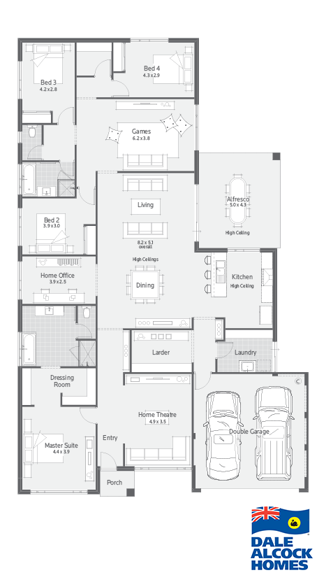 Archipelago I Dale Alcock Homes House Floor Plan In 2018 House