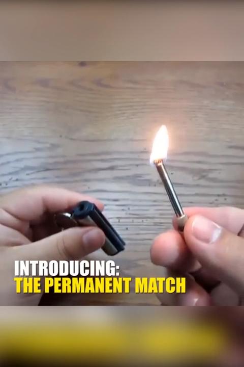 Permanent Matchstick Video Useful Life Hacks Survival Tools Survival Skills