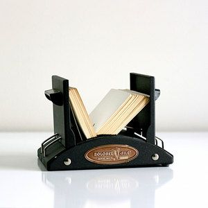 Mid-Century Industrial Rolodex, $58, now featured on Fab.