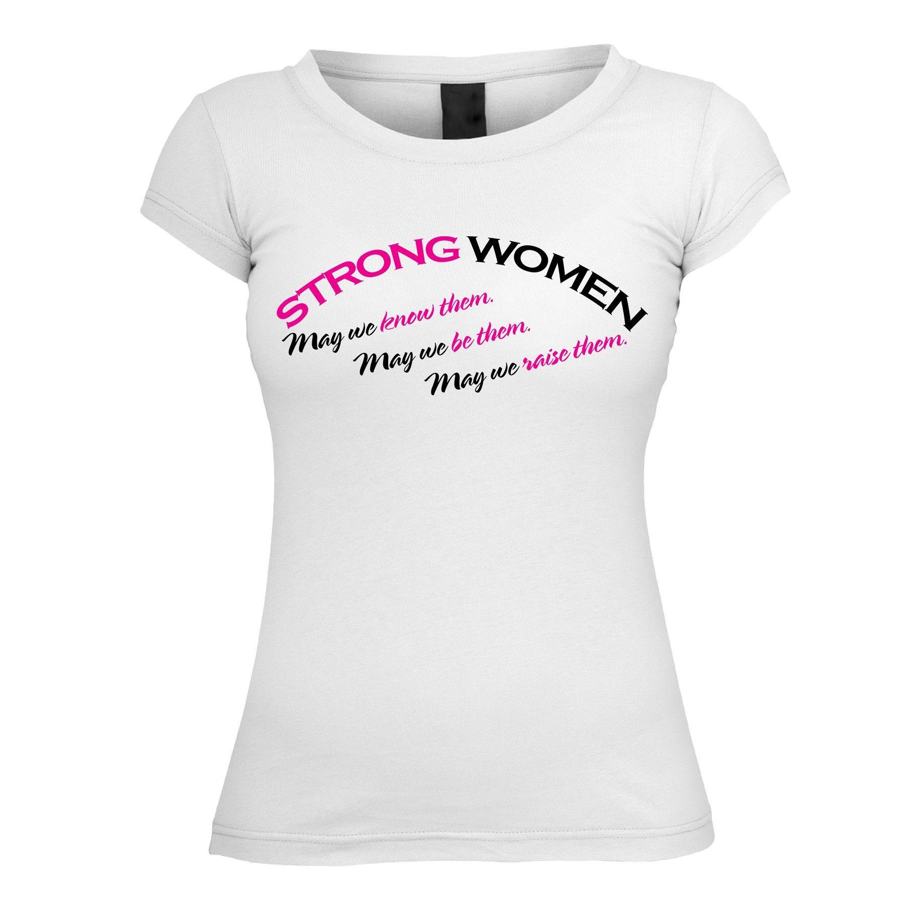 Strong Women Short Sleeve Tshirt