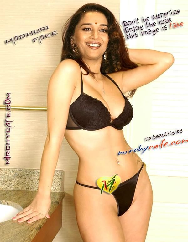 Madhuri Dixit Nude Big Boobs Photos  Hot  Pinterest -3630