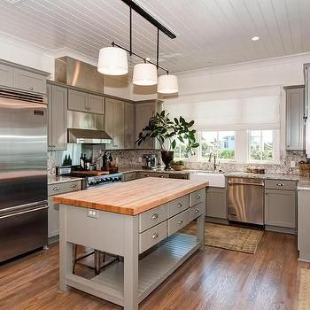 Best Shiplap Beach Cottage Kitchen Features A Shiplap Ceiling 400 x 300
