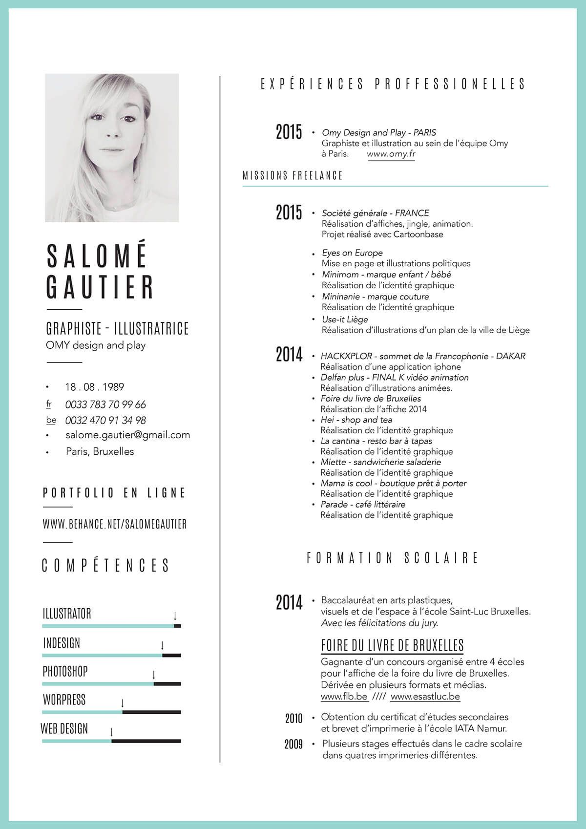 modele cv canva marketing mode