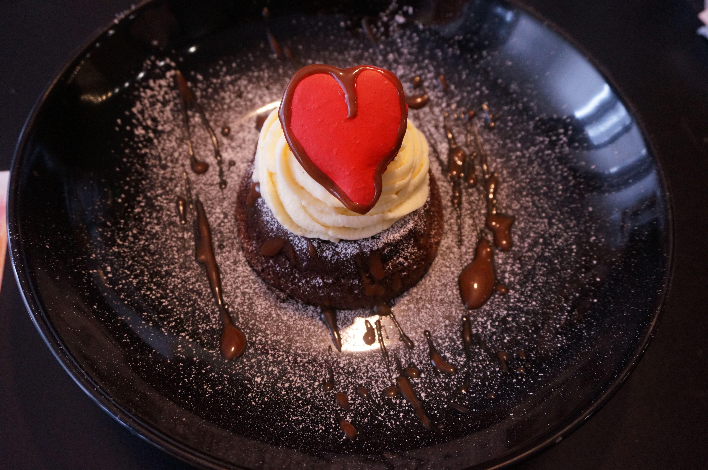 Parfait au chocolat dessert idéal gourmand pâtisserie saint valentin