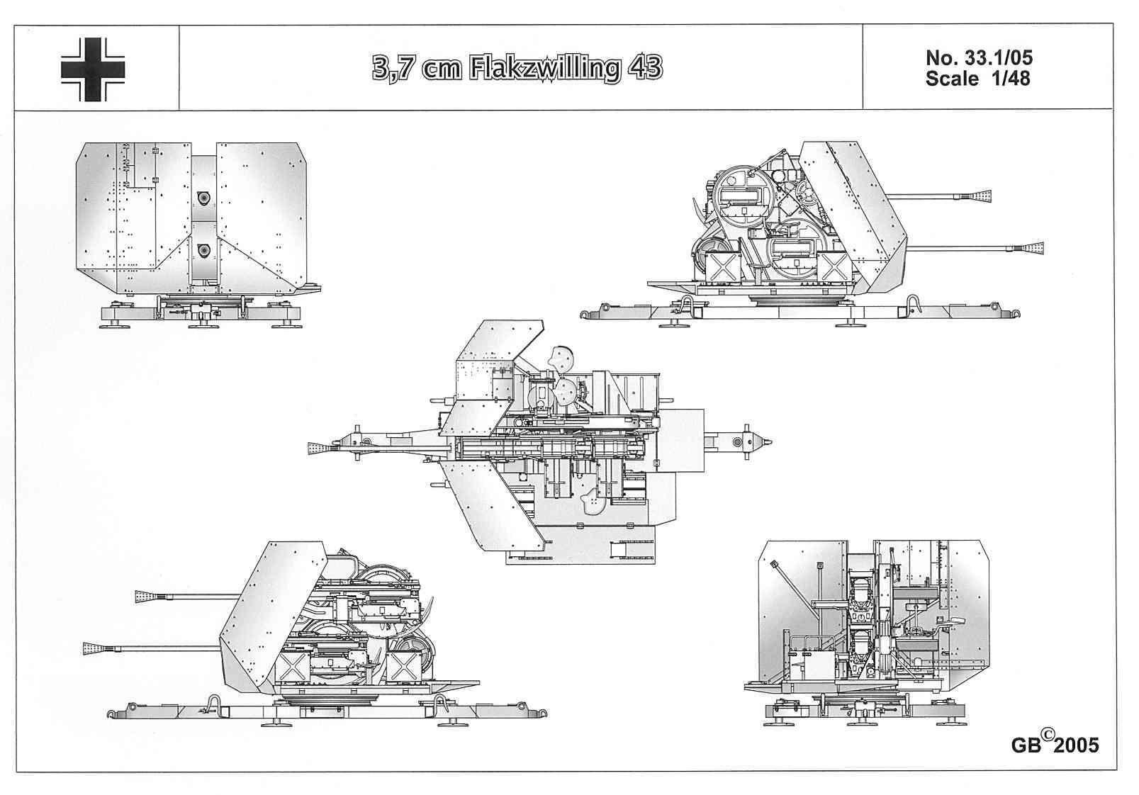 3 7 Cm Flakzwilling 43