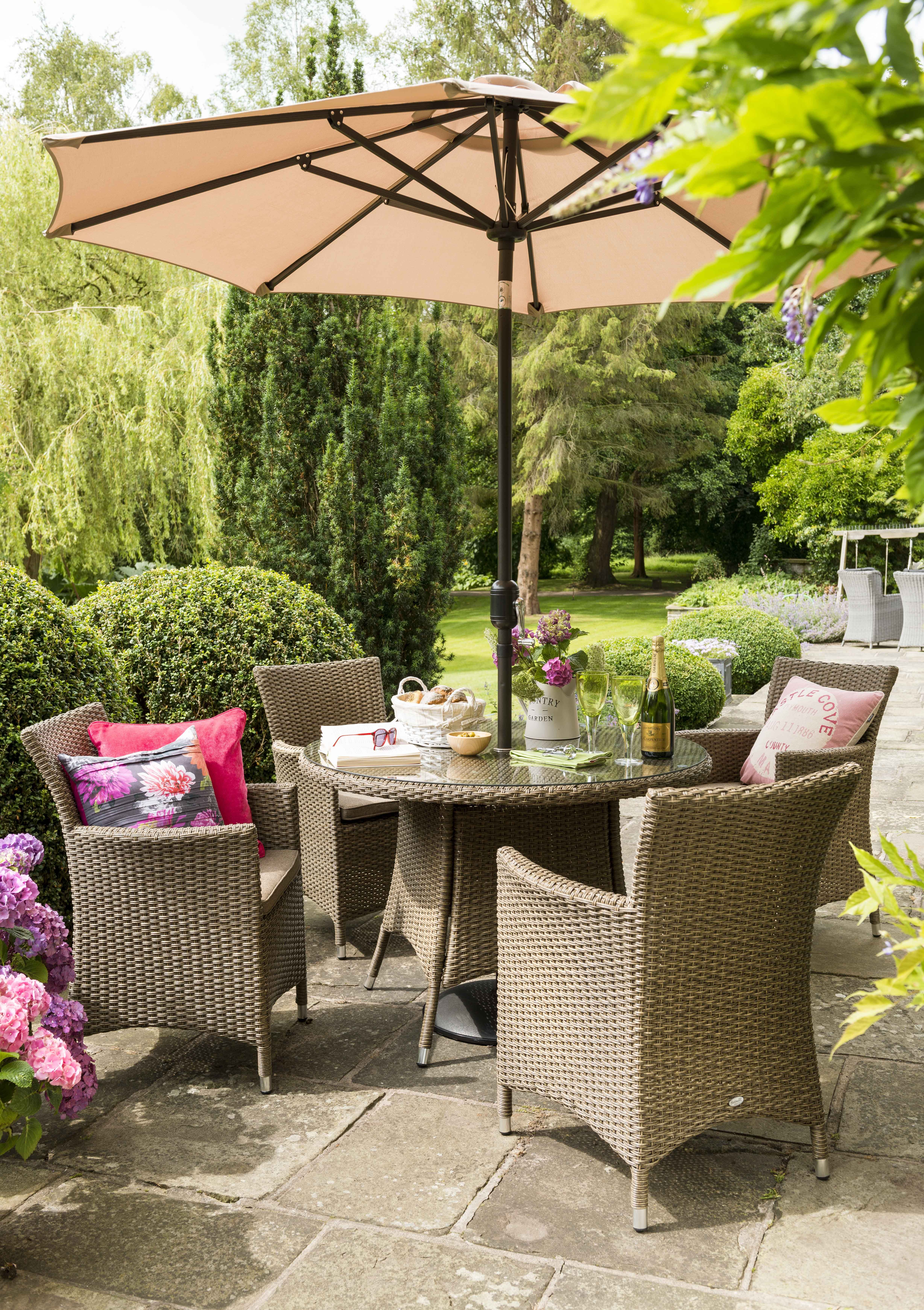 Madison 4 Seat Set Garden furniture sets, Outdoor