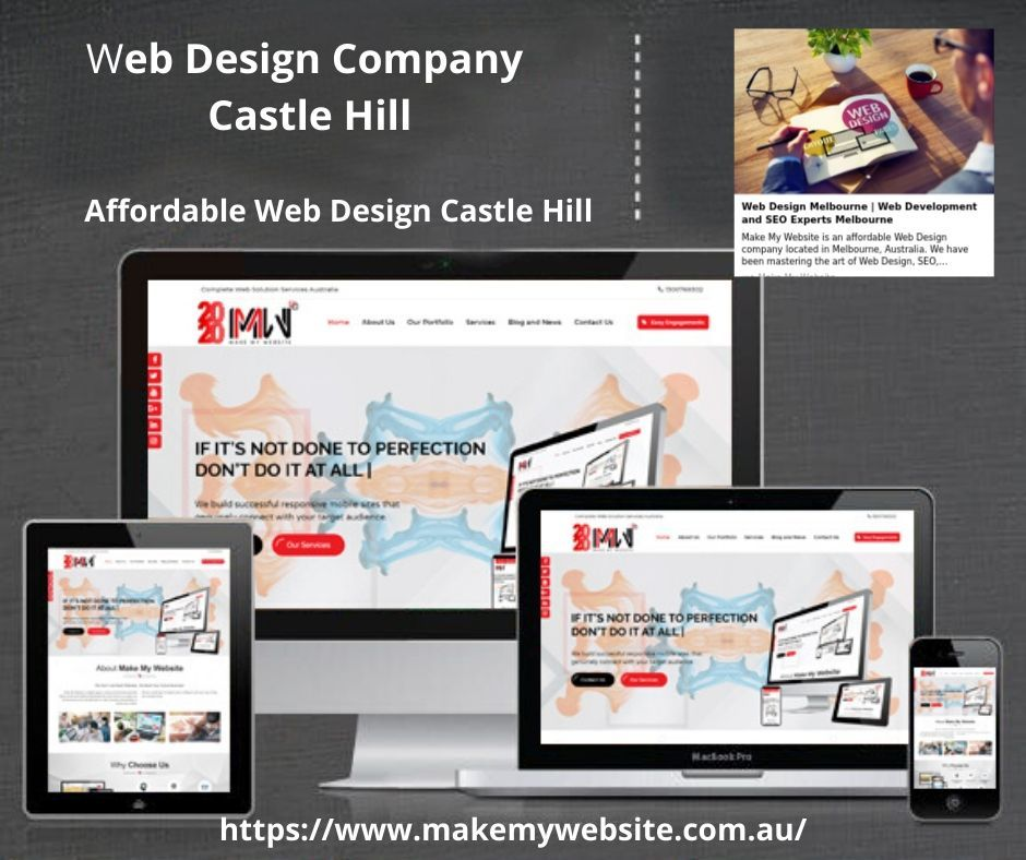Affordable Web Design Castle Hill In 2020 Web Design Company Web Design Affordable Web Design