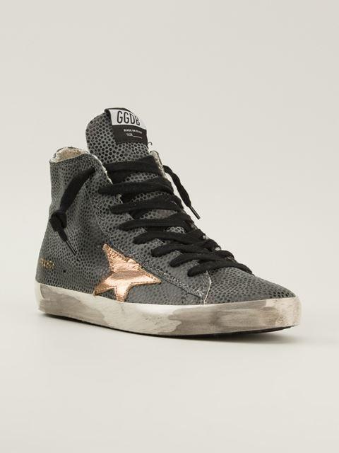 443015b655cf Golden Goose Deluxe Brand Lizard Skin Effect Sneakers - Penelope - Farfetch .com
