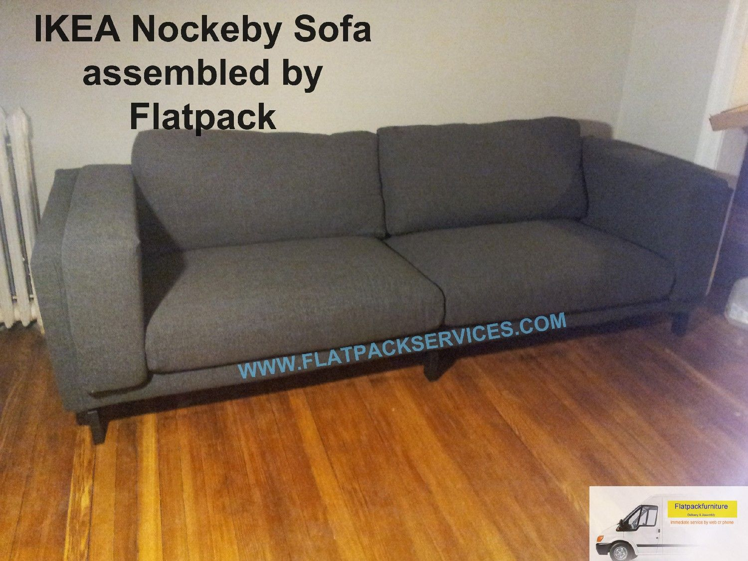 IKEA Nockeby Sofa Assembled By Flatpack Services Www.flatpackservice.com Best  IKEA Assembly In