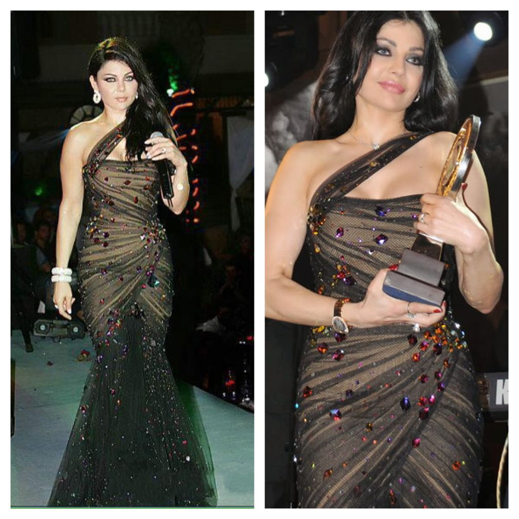 Haifa Wehbe - In the past she has the same weight like now! She just ...