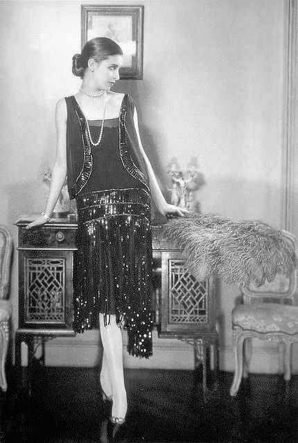Marion Morehouse in Chanel - 1926 - Design by Gabrielle 'Coco' Chanel - Photo by Edward Steichen - Condé Nast Archive
