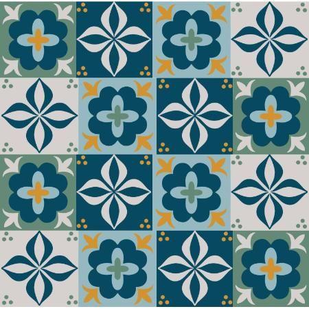 Adesivo Azulejo Hidrulico direto da Fbrica   azulejos