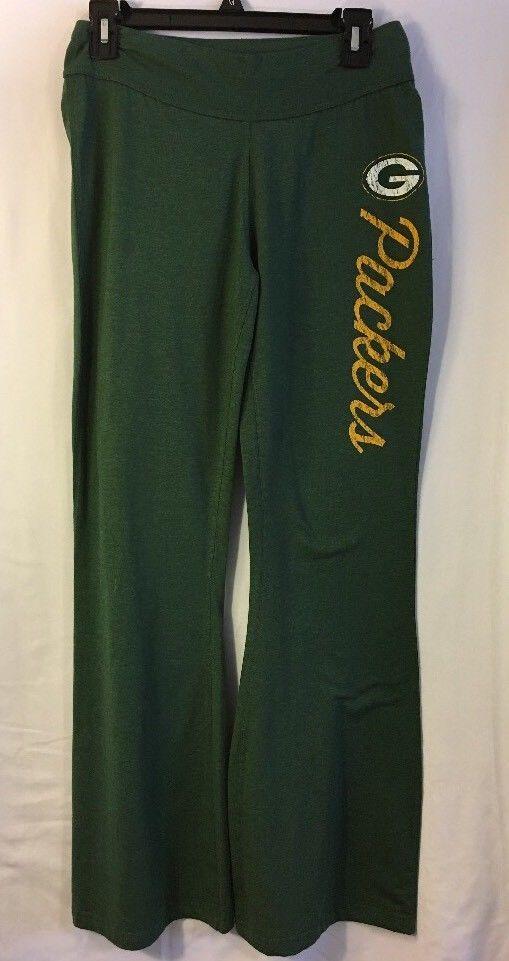 f2d427d782 Green Bay Packers NFL Women s Pajamas Sweat Lounge Yoga Pants Gray Medium  To New  NFLTeamApparel  GreenBayPackers