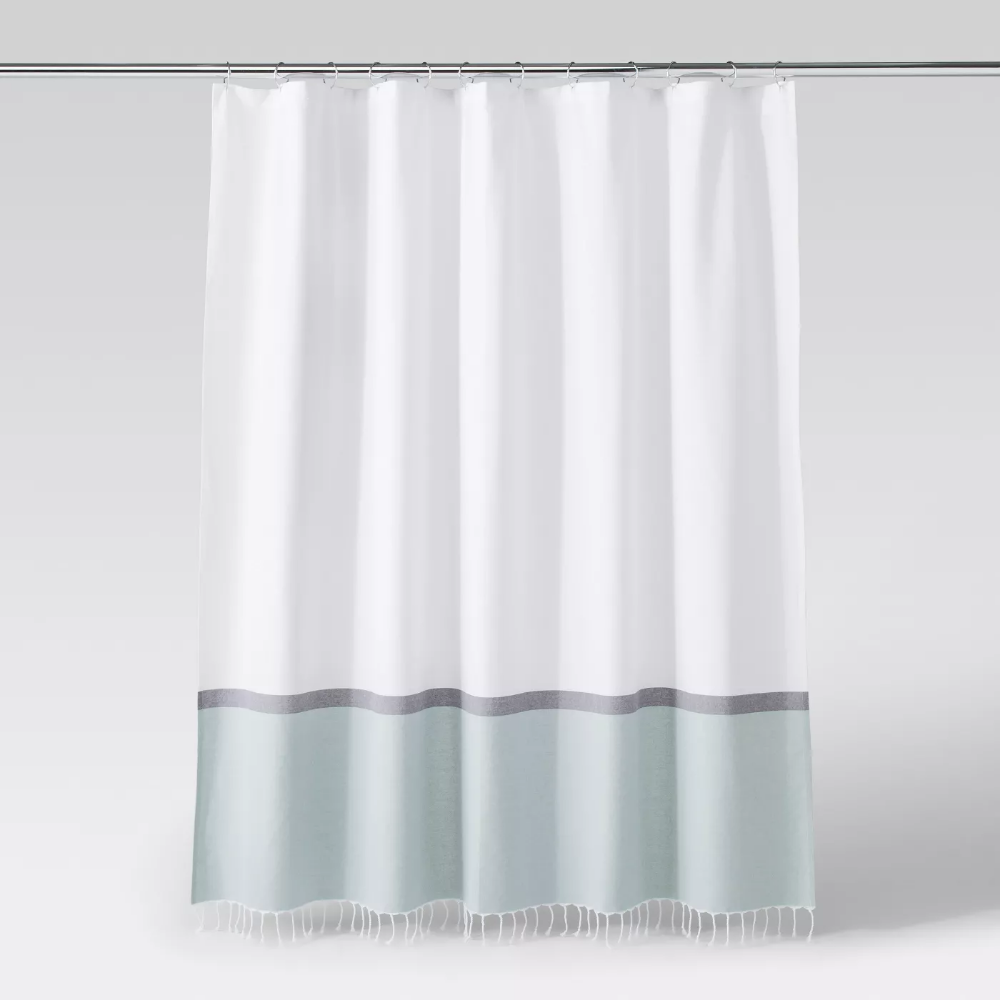 project 62 green shower curtains