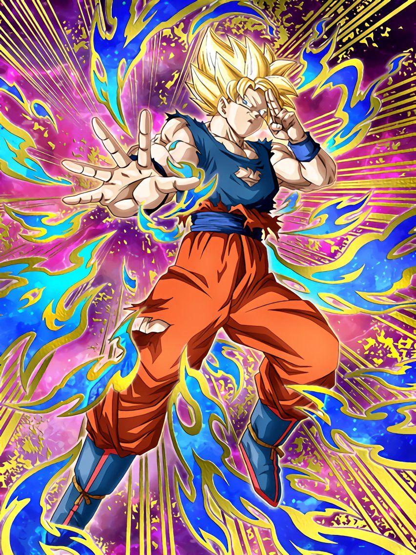 Strike Of Gratitude And Respect Super Saiyan Goku All The Living