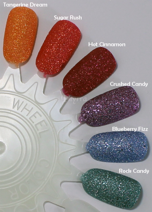 Jesse's Girl Julie G Frosted Gum Drops Nail Polish Review and Swatches. Click through to see them all! #crueltyfree #beauty #makeup #nailpolish