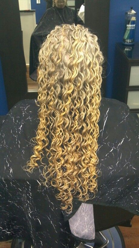 Pin By Sara Woodall On Hair By Brittany Long Hair Perm Hair Styles Perm For Thin Hair
