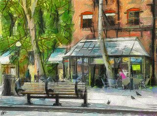 OCCIDENTAL PARK 013 BY DALE. Viewing buildings art gives you new exciting possibilities for home decor. Buildings art paintings will brighten office decor in ways you can not image. Explore the beauty of colorful imaginative architectural paintings. You will be amazed! SEE MORE BUILDINGS ART PAINTINGS NOW.... www.http://richard-neuman-artist.com/collections/90009