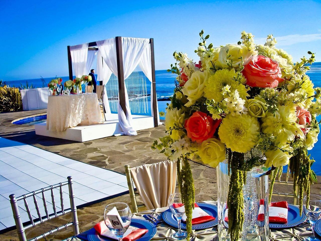 Oceanfront Wedding In Rosarito Mexico Baja California Beach Weddings Destination