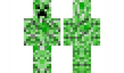 Minecraft Skin Creeper Skins De Minecraft Minecraft Personajes Minecraft