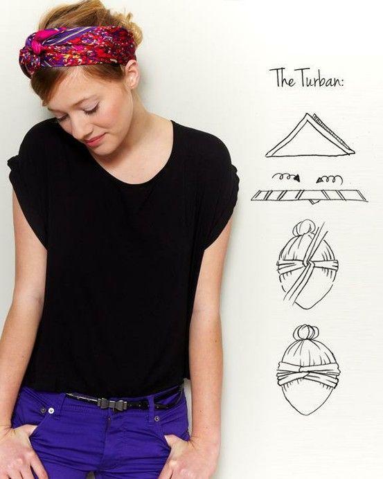 Turban Binden Mode Haar Band Haarband Frisur Und Frisuren