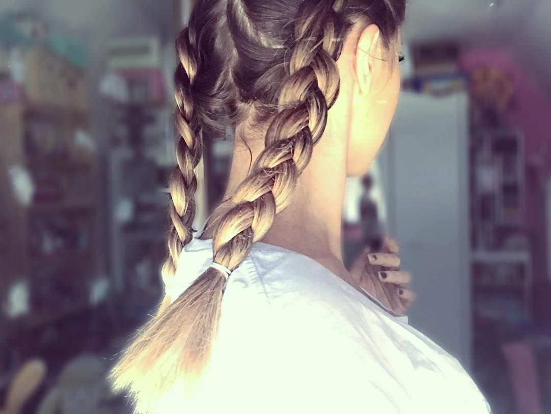 Braids braidstyles braids hair hairstyle girl german