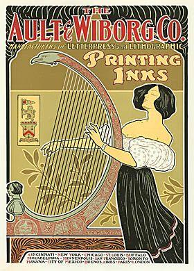 Advertising Illustration Gallery Art Nouveau Poster Vintage Advertisements Illustration