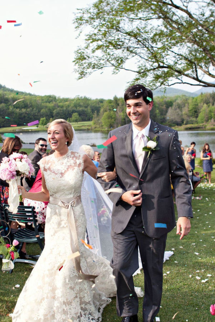 Linville Wedding by Nancy Ray Photography | Confetti, Wedding and ...