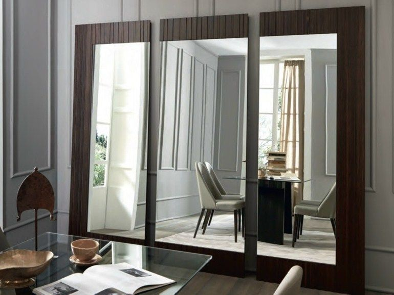 framed freestanding rectangular mirror symphonia day collection by ... - Mobili Living Design
