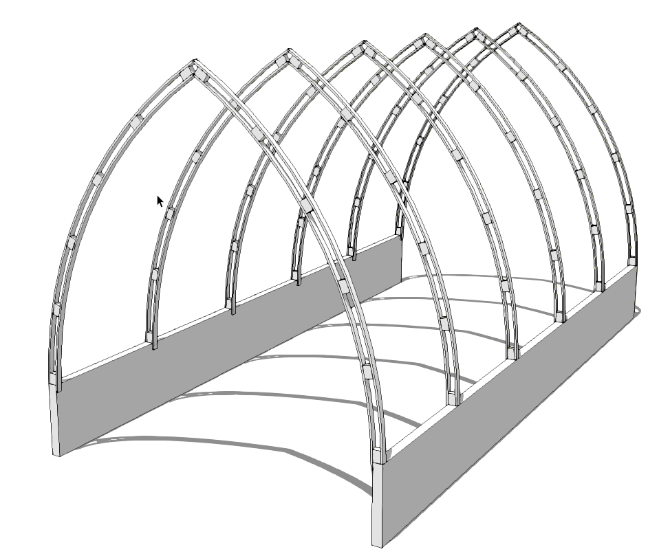 Best Trying To Draw Bow Roof Gothic Arch For My Greenhouse 400 x 300