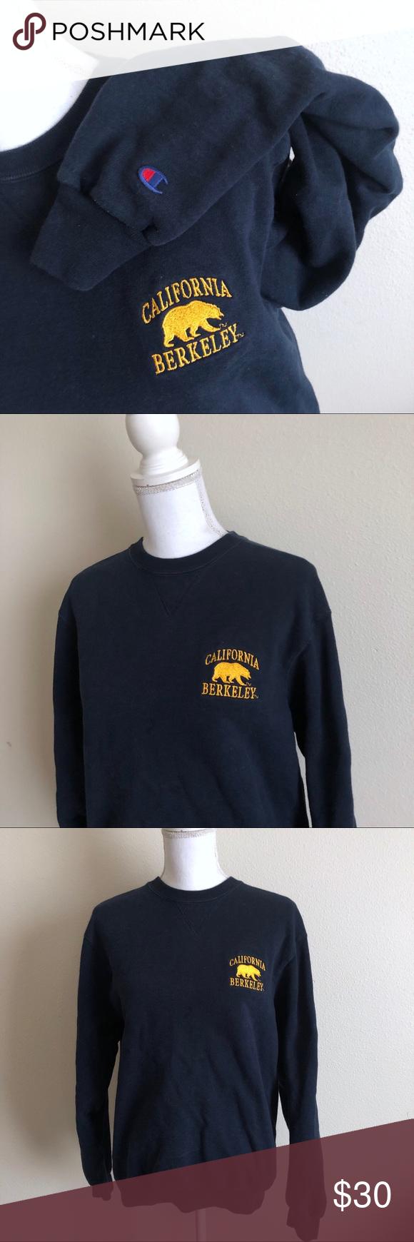 Berkeley Champion Sweatshirt Champion Sweatshirt Sweatshirts Champion Tops [ 1740 x 580 Pixel ]